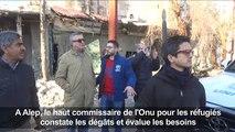 Syrie: à Alep, le HCR constate les dégâts