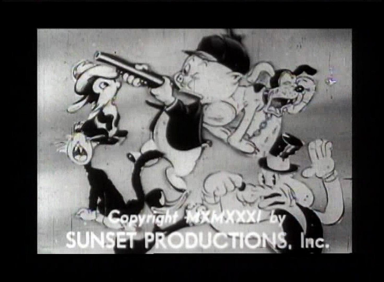 Bosko's Holiday (Original Version 1931).