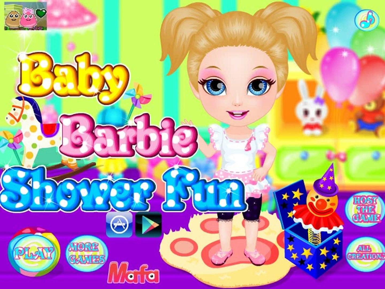 Ухаживаем за маленькой Барби! Игры для девочек! Детские игры!