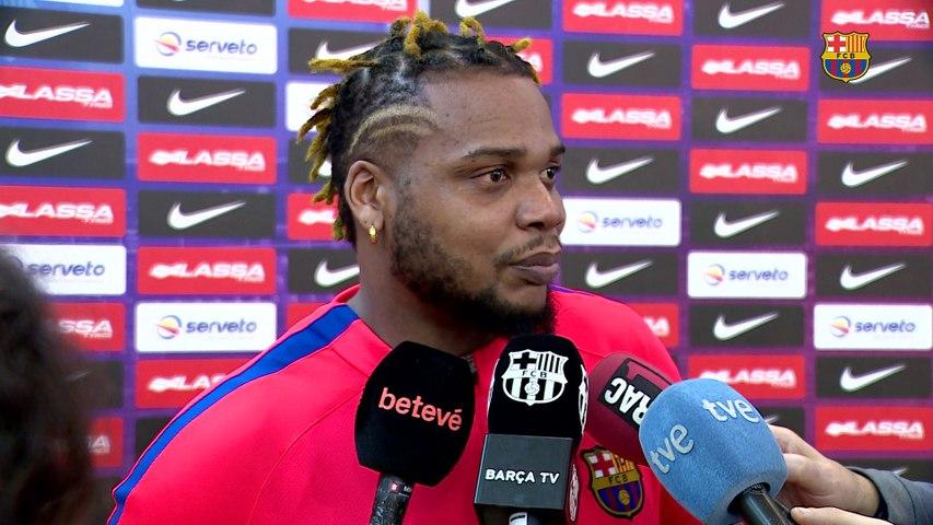 Los campeones del mundo, Sorhaindo, Mem y N'Guessan ya trabajan con el Barça Lassa