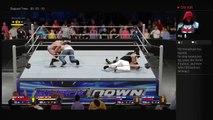 Smackdown Live 1-31-17 Randy Orton Bray Wyatt Vs John Cena Luke Harper