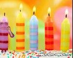 Le serveur vocal - joyeux anniversaire, carte anniversaire animée