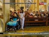 SONA: Dating First Lady Imelda Marcos, dumalo sa misa para sa Martial Law Victims