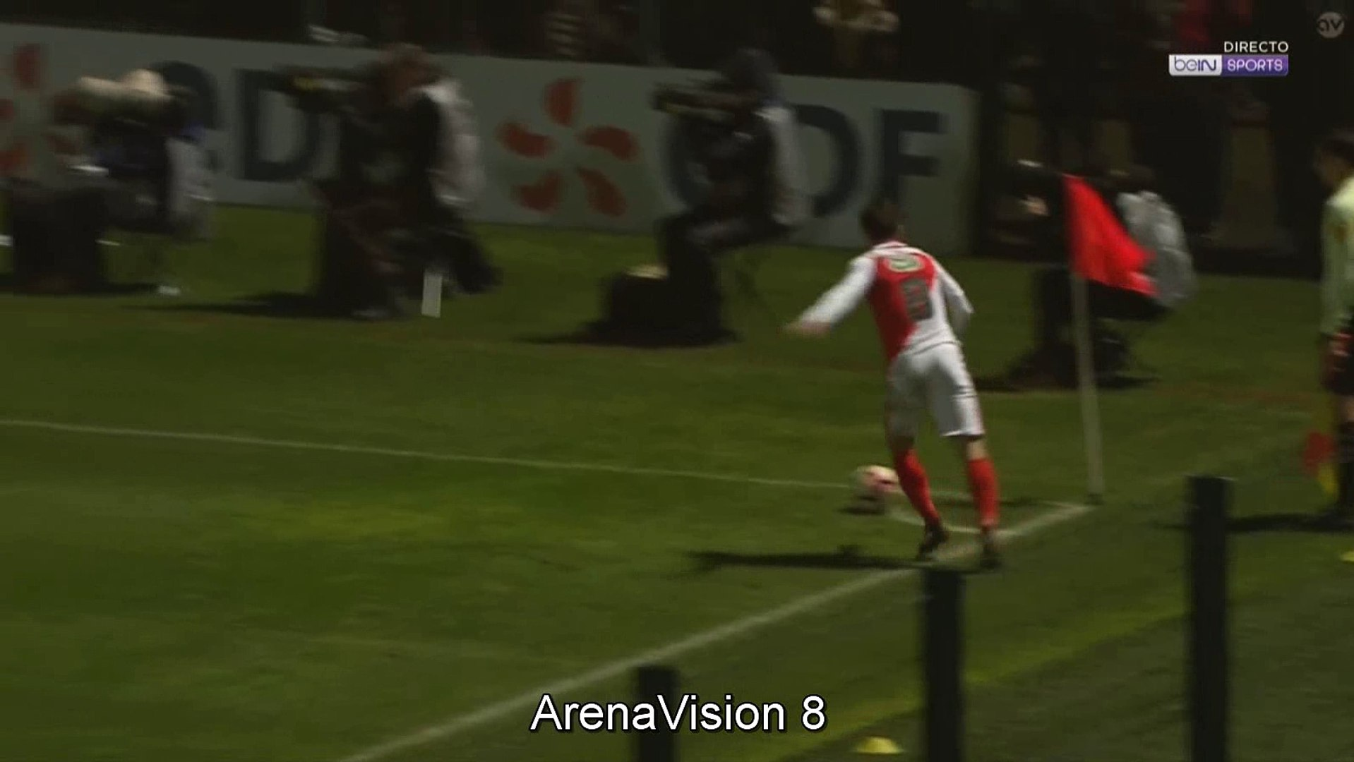 Kevin N'Doram Goal HD - Chambly 3-4 Monaco 01 02 2017