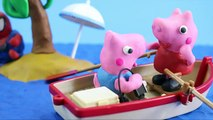 Peppa Pig Stop Motion Play Doh! Peppa Pig with Play Doh Shark Stop Motion! Peppa Pig Play Doh!