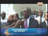 Coopération ivoiro-américaine: Ahoussou Jeannot a reçu une délégation d'hommes d'affaires