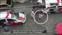 Corregedoria da PM afasta policiais acusados de agressão