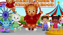 Даниэль Тигра район Нью-Finger семья   потешки для детей   видео 4K