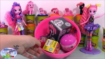 MY LITTLE PONY GIANT Play Doh Surprise Egg PINKIE PIE - Surprise Egg and Toy Collector SETC