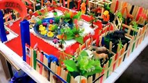 zoo park model kids zoo project (zoo animals project)for school science exhibition_wild animals toys