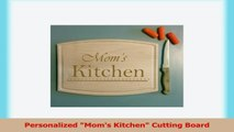 Personalized Moms Kitchen Cutting Board 94ad4123