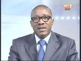 Gnenema Coulibaly,Ministre des droits de l`homme et des libertés publiques invité du JT