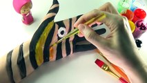Бодиарт обучение цвета для детей учим цвета вместе с краска для тела