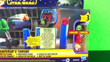 Angry Birds Star Wars Emperors Throne Battle Game! - Cööl!