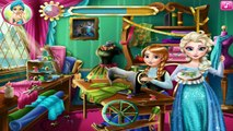 Disney Princess Anna and Elsa Frozen Design Rivals Cartoon Games for Kids