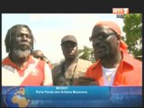 Les artistes de la Caravane de la Paix et de la reconciliation acceuillis en fanfare à Gagnoa