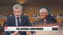 Former Exxon CEO Rex Tillerson sworn in as U.S. Secretary of State