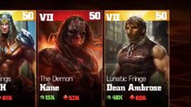 WWE Immortals [new update New Characters Dean Ambrose and Stephanie McMahon] Android Gameplay (HD)