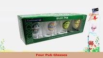 ARC International Luminarc Irish Beer Label Pub Beer Glass 16oz  Set of 4 315f85b3