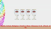 Stella Artois Belgian Chalice Beer Glasses 04L Pack of 4 1c8a17ee