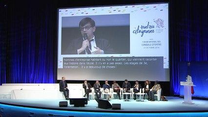 """Table-ronde """"Image des quartiers"""" - Forum national des conseils citoyens"""