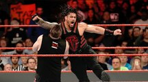 Roman Reigns Vs Kevin Owens & Chris Jericho In A Handicap Match For WWE United State Championship At WWE Raw