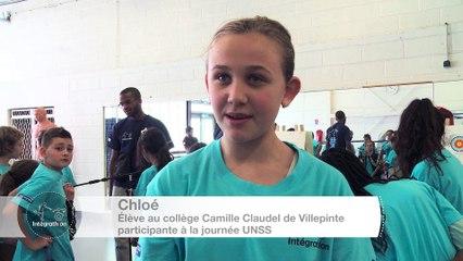 ITW16 - Chloé - élève participante à la journée UNSS