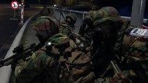 Déploiement militaire sur le pont d'Yvoir et la passerelle d'Houx (Partie 2)