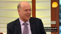 "Chris Grayling: Heathrow Expansion is ""essential"""
