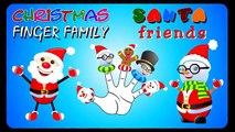Santa Claus Christmas Songs for Children Santa Claus Cartoon Finger Family Nursery Rhymes for Kids