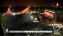 Roumanie : premières manifestations depuis la fin du communisme