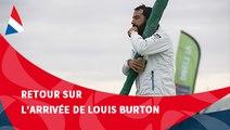 J88 : L'arrivée de Louis Burton aux Sables d'Olonne / Vendée Globe