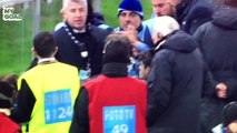 Un joueur de la Lazio en vient aux mains avec un hooligan dans les tribunes