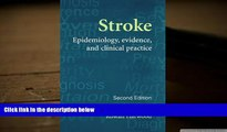 Audiobook  Stroke: Epidemiology, Evidence and Clinical Practice Shah Ebrahim Pre Order