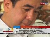 BT: Comelec Chair Bautista, nanindigan 'di magre-resign sa kabila ng mga reklamo laban sa kanya