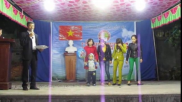 Giải thưởng khuyến học cho thầy cô giáo  và hs cấp cơ sở thôn Liễu Điện 30/1/2017