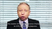 Jean Todt about the 2017 WEC Edition