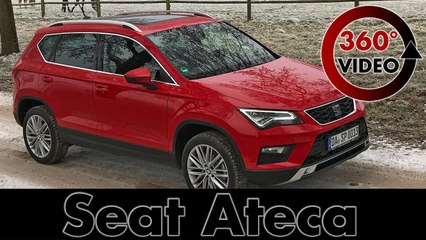 Seat Ateca 2017 EcoTSI | Test Drive & Review | 360 degree | VR Video