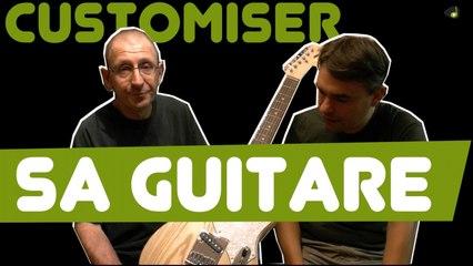 Customisation et personnalisation de guitare - Le Labo Lutherie