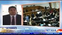 """""""Gobierno venezolano decidió negarle pasaporte diplomático a todos los diputados de la Asamblea Nacional"""": José Gregorio Correa NTN24"""