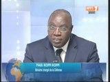 Attaques de commissariat de Port-Bouet: Le ministre de la défense Paul Koffi, invité du journal