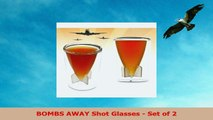 BOMBS AWAY Shot Glasses  Set of 2 491ec7c9
