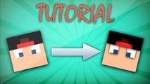 Como Fazer O Rosto Da Sua Skin De Minecraft Em 3d