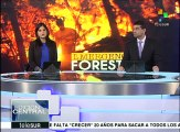 Chile sigue combatiendo los peores incendios forestales de su historia