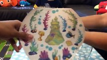 Lil Fishys Fishbowl Habitat - Motorized Water Pets Deco Kit and Bonus Lil Fishy by FamilyToyReview