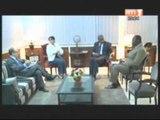 Audience du ministre de l'intérieur accordée à la directrice du bureau des nations unies pour les services d'appui aux projets structures onusiennes
