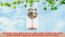 Santa Barbara Design Studio Happy Holidays to You Lolita Wine Glass Multicolored e48af4c0