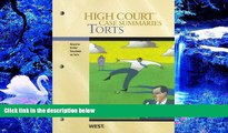 READ book High Court Case Summaries on Torts, Keyed to Dobbs, 6th Publishers Editorial Staff For