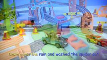 Thomas and Friends - Itsy Bitsy Spider Song with Funny Crashes