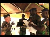L'officier de liaison de la force licorne en Côte d'Ivoire nommé chevalier de l'ordre national